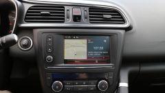 Renault Kadjar: lo schermo touch del sistema di infotainment