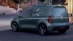 Nuovo Renault Kangoo Z.E. 2020 concept: dimensioni, interni, uscita
