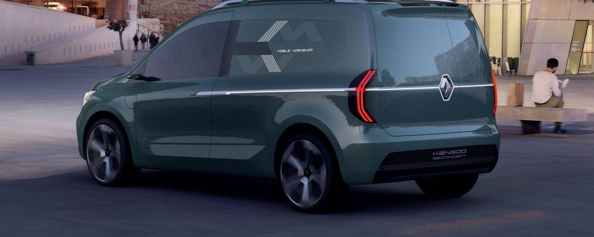 Nuovo Renault Kangoo Z E 2020 Concept Dimensioni
