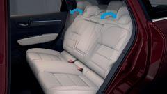 Renault Koleos 2019: divanetto posteriore reclinabile