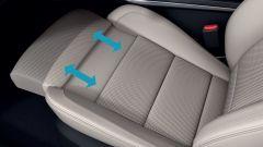 Renault Koleos 2019: supporto gambe sedile anteriore