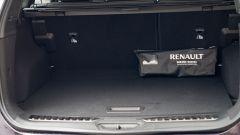 Renault Koleos 2020, il vano bagagli