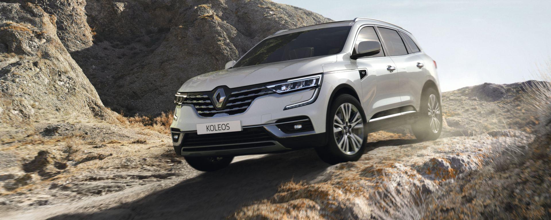 Renault Koleos 2021: il restyling del SUV francese