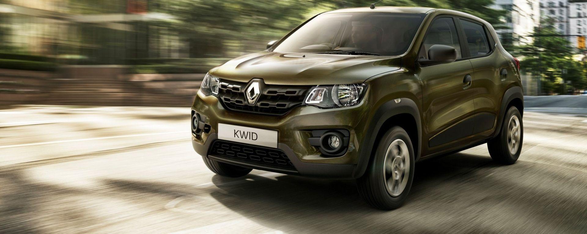 Renault Kwid in Italia