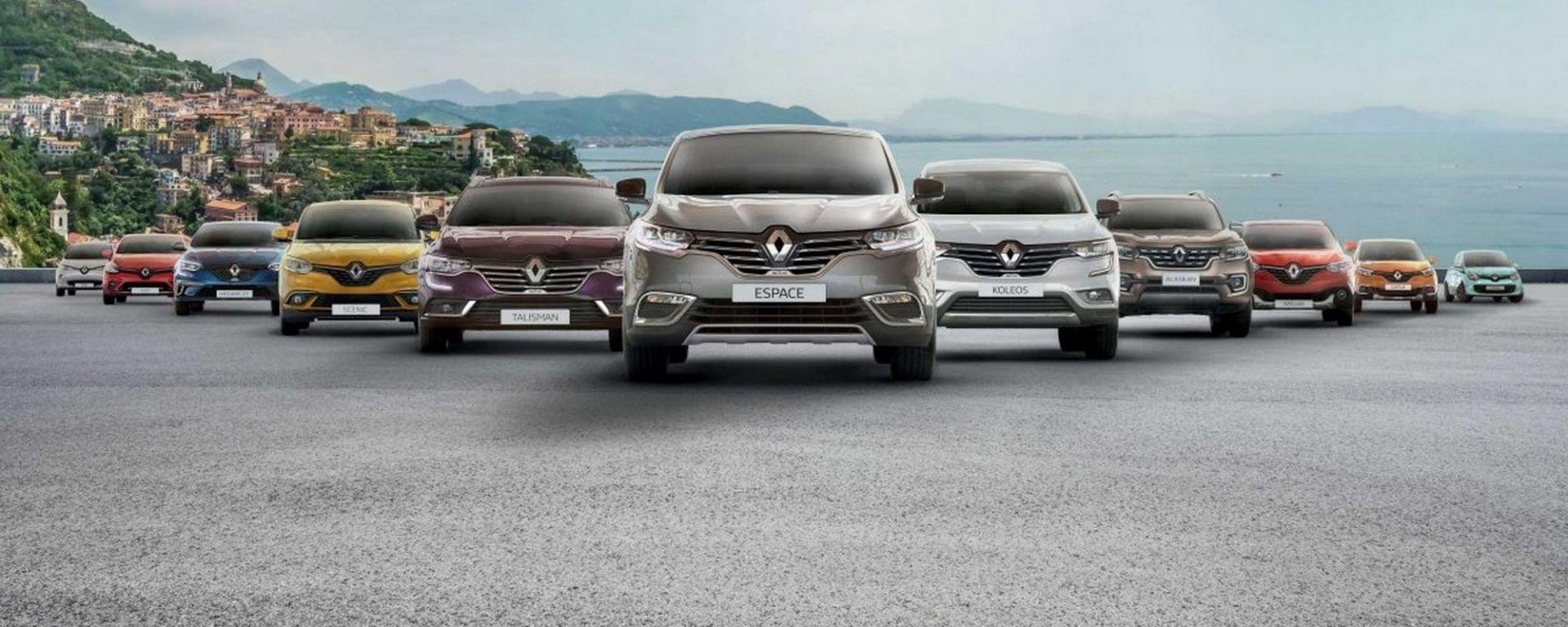 Renault: il 4° marchio in Italia per il quinto anno consecutivo