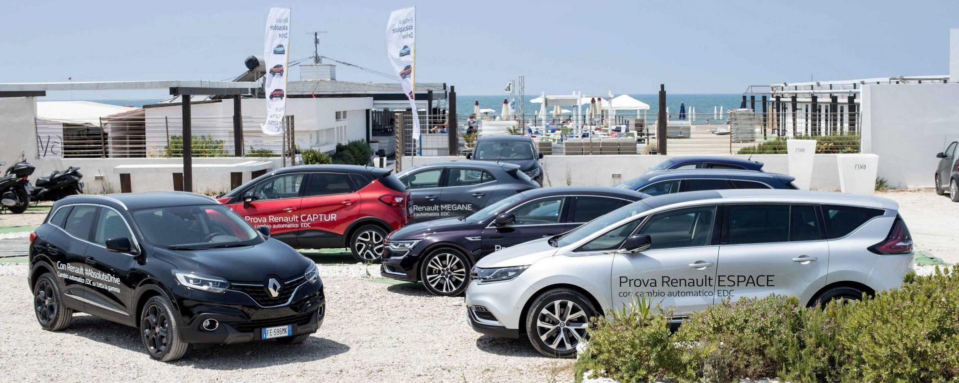 Renault: la trasmissione automatica EDC a doppia frizione è disponibile sull'intera gamma, da Twingo a Espace