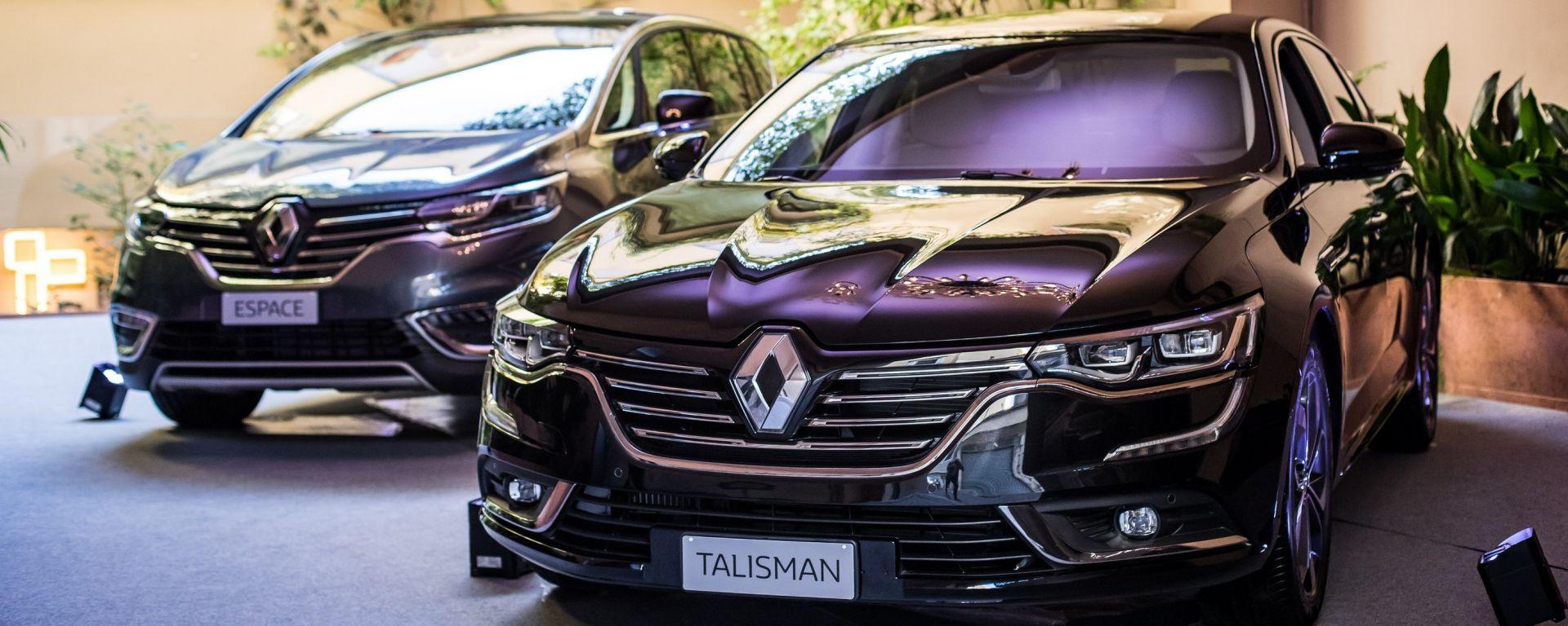 Renault lancia la gamma Executive su Talisman e Espace