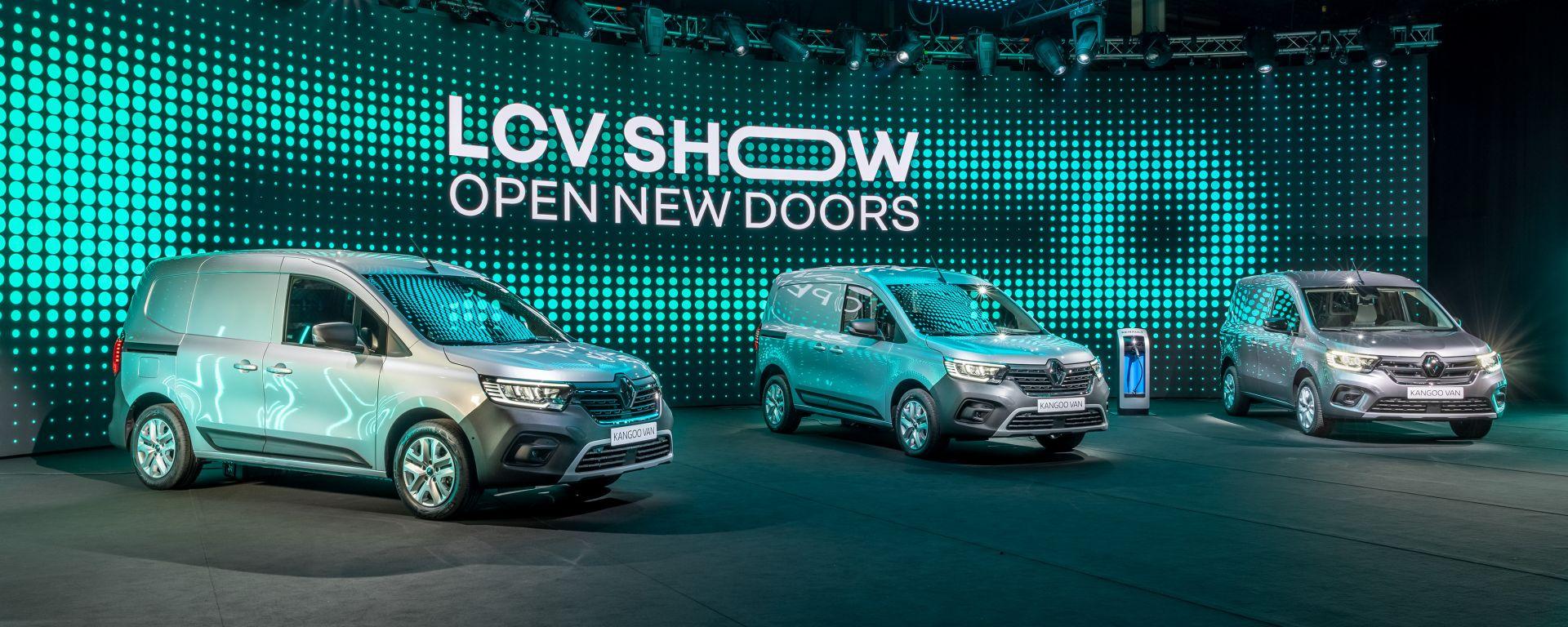 Renault LCV Show 2021: i nuovi Kangoo ed Express