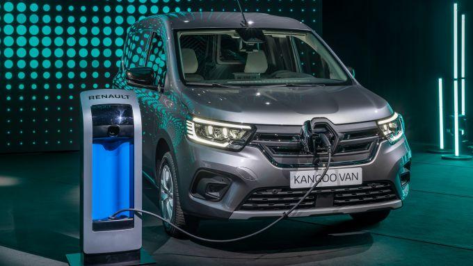 Renault LCV Show 2021: il nuovo Kangoo elettrico