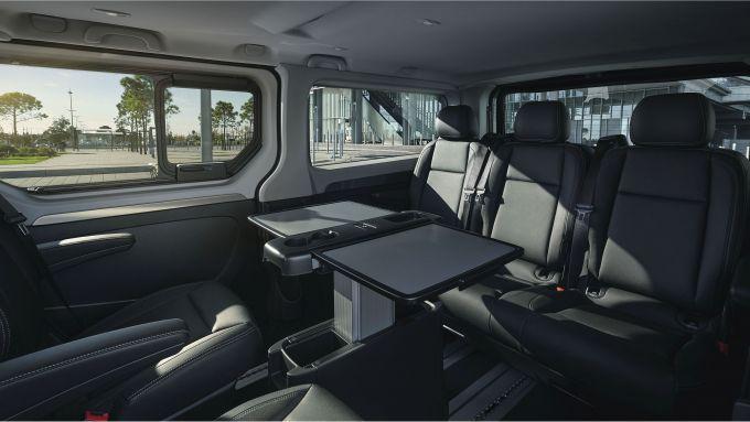 Renault LCV Show 2021: interni del Trafic SpaceClass