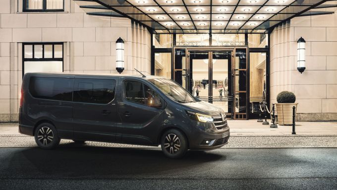 Renault LCV Show 2021: nuovo Trafic SpaceClass