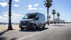 Renault Master 2019: il frontale