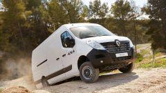 Renault Master, disponibile in versione X-Track o 4X4