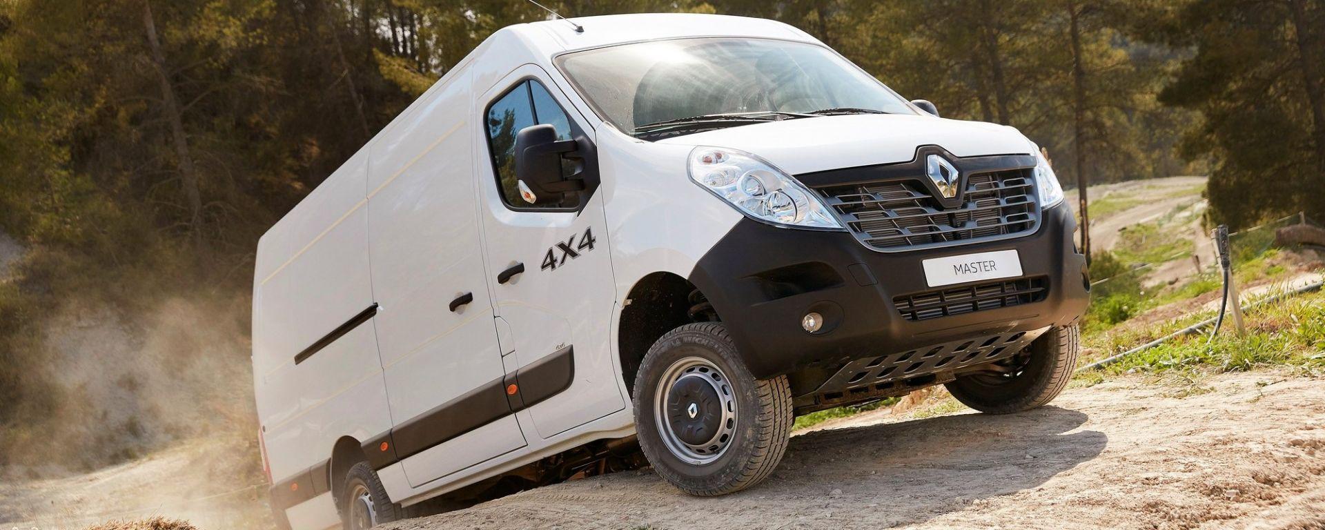 Renault Business Booster Tour: Kangoo, Trafic e Master arrivano con l' X-Track