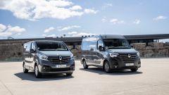 Renault Master e Traffic 2019: dettaglio anteriore