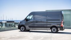 Renault Master: vista laterale