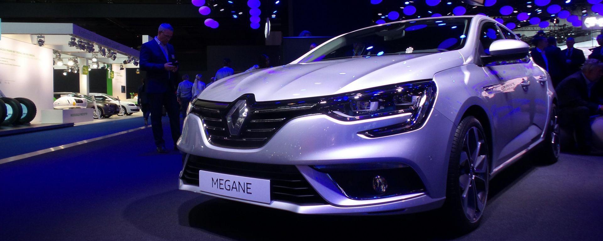 Renault Mégane 2016 al Salone di Francoforte