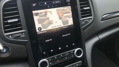 Renault Mégane E-Tech PHEV R.S. Line: il navigatore satellitare del sistema Easy Link