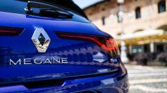 Renault Mégane E-Tech plug-in hybrid, dettaglio del posteriore