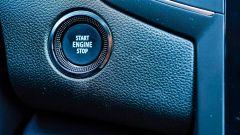 Renault Mégane E-Tech plug-in hybrid, il tasto di avviamento
