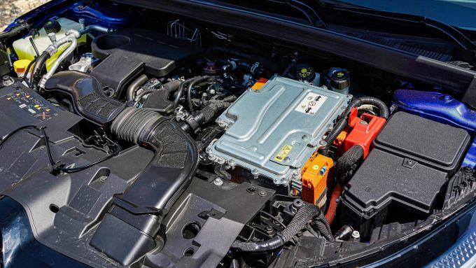Renault Mégane E-Tech plug-in hybrid, il vano motore