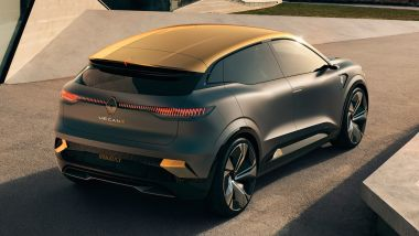 Renault Mégane E-Tech SUV: il nuovo modello elettrico ispirato al concept Mégane eVision