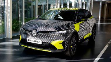 Renault Mégane E-Tech SUV: il prototipo del nuovo modello elettrico francese