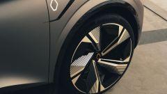 Renault Megane eVision: i dischi sono da 20