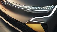 Renault Megane eVision: i gruppi ottici anteriori