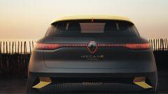 Renault Megane eVision: il gruppo ottico posteriore