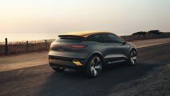 Renault Megane eVision: il posteriore