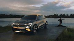 Renault Megane eVision: vista di 3/4 anteriore