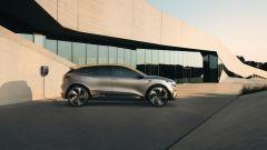 Renault Megane eVision: vista laterale