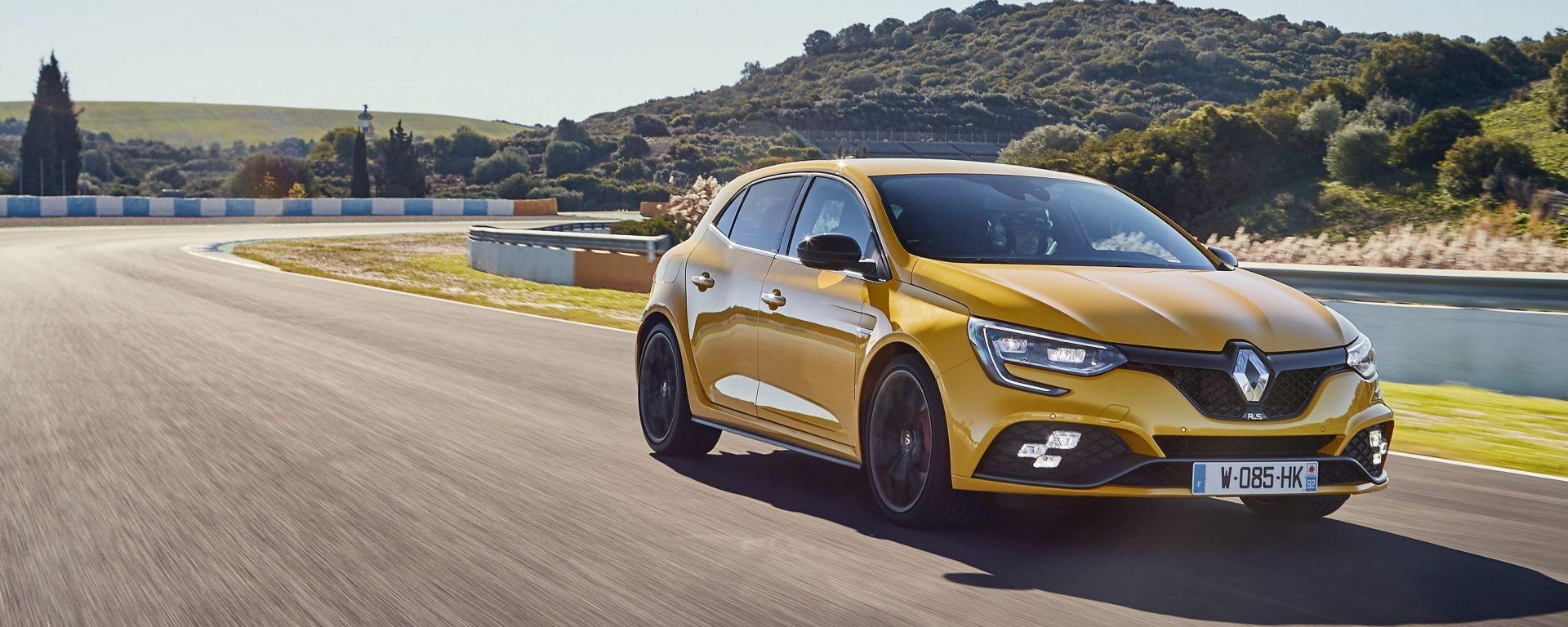 Renault Megane RS 2018: la prova su strada e in pista