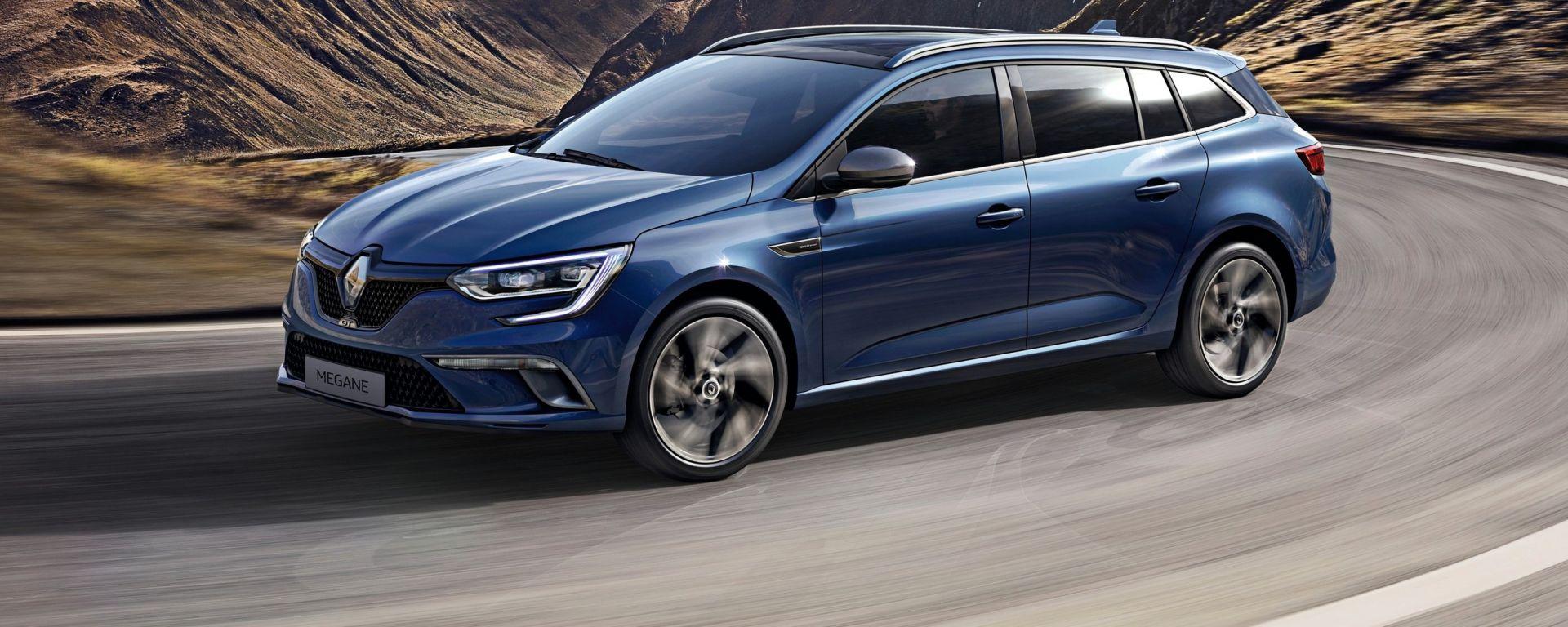 Renault Megane Sporter: è lunga 4 metri e 62 centimetri