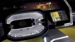 Renault Morphoz, il volante in cristallo con comandi a sfioramento