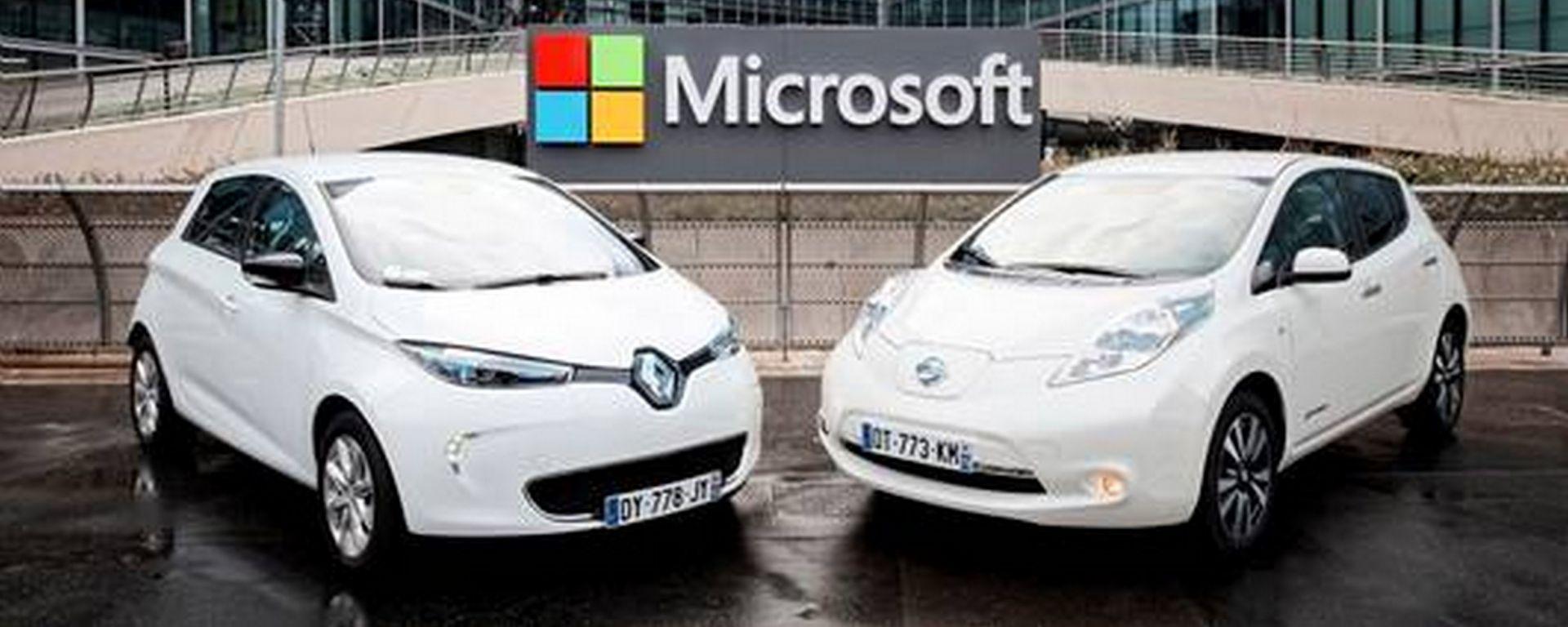 Renault-Nissan e Microsoft insieme per la guida connessa