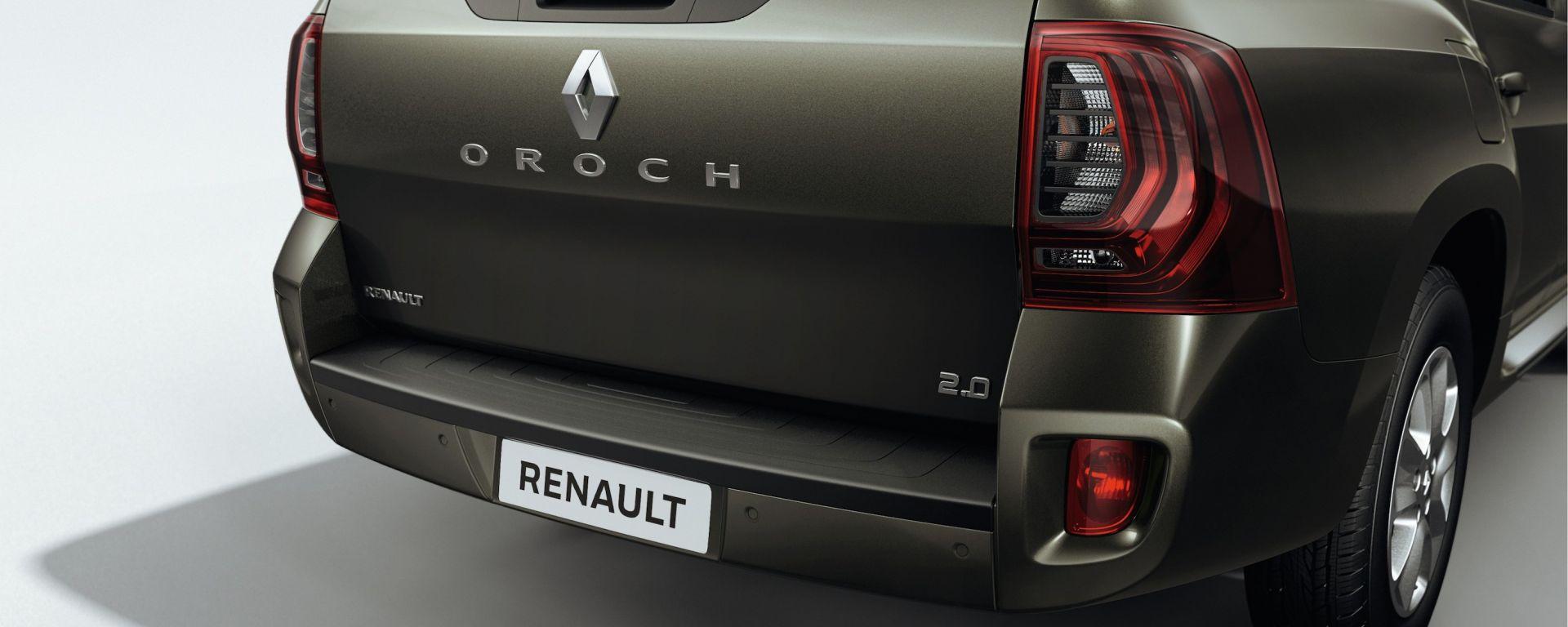 Renault Oroch: nuove info e foto ufficiali