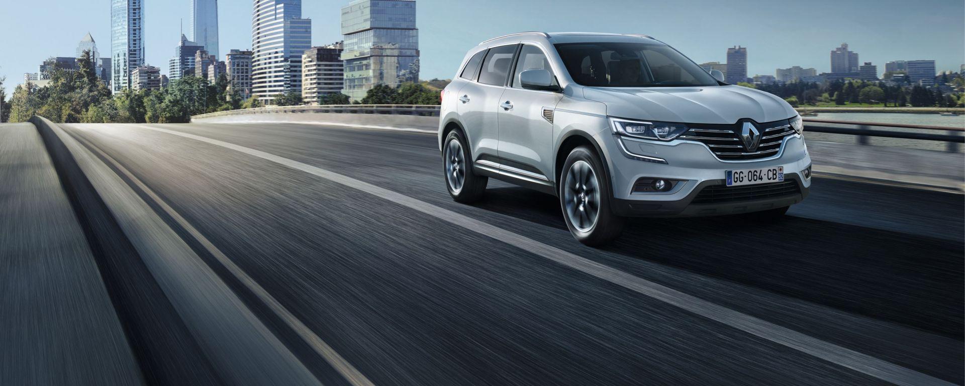 Renault porterà a Parigi un'inedita concept e, per la prima volta in Europa, la nuova Koleos