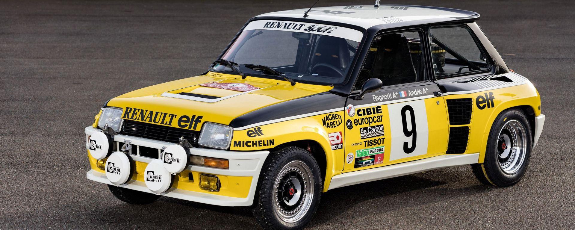 Renault Classic: quattro equipaggi al via del Montecarlo storico