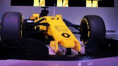 Renault RS17 fatta di Lego, vista anteriore