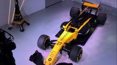 Renault RS17 fatta di Lego, vista dall'alto