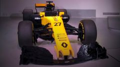 Renault RS17 fatta di Lego, vista frontale