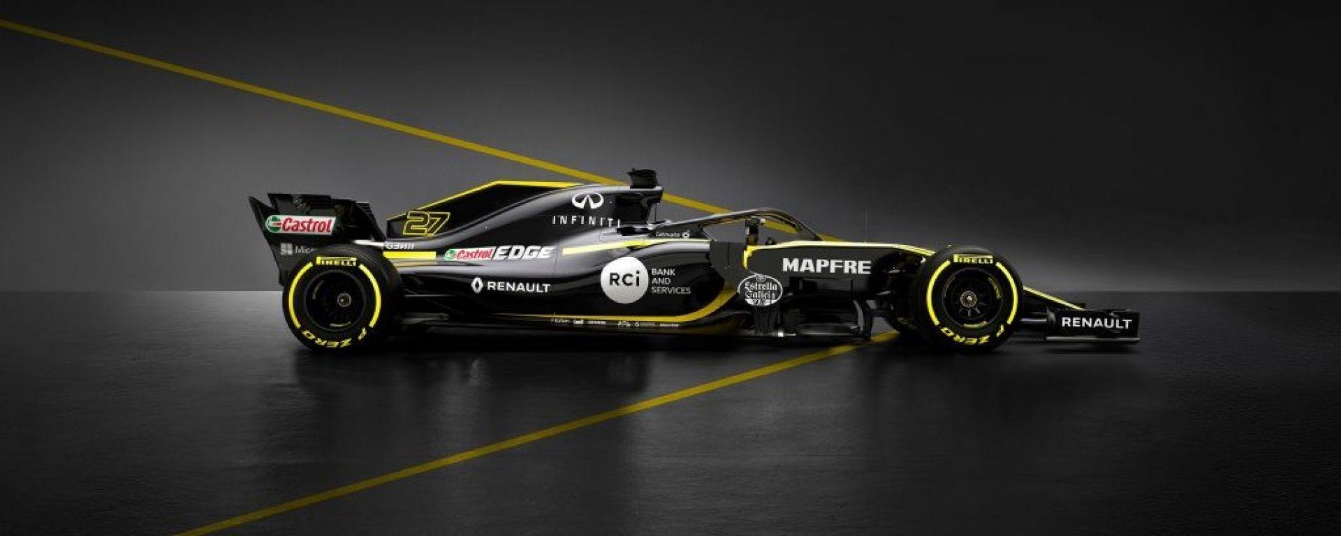 Renault RS18 - F1 2018