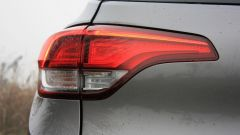 Renault Scenic 1.6 dCi Bose: dettaglio del fanale posteriore