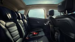 Renault Scenic 2016: sedili posteriori