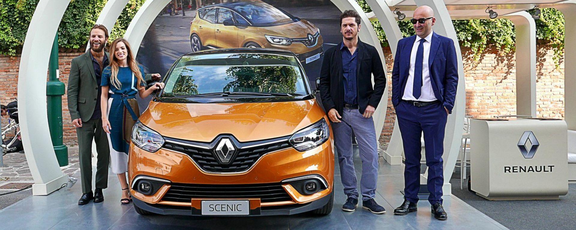 Renault Scénic al Festival del Cinema di Venezia 2016