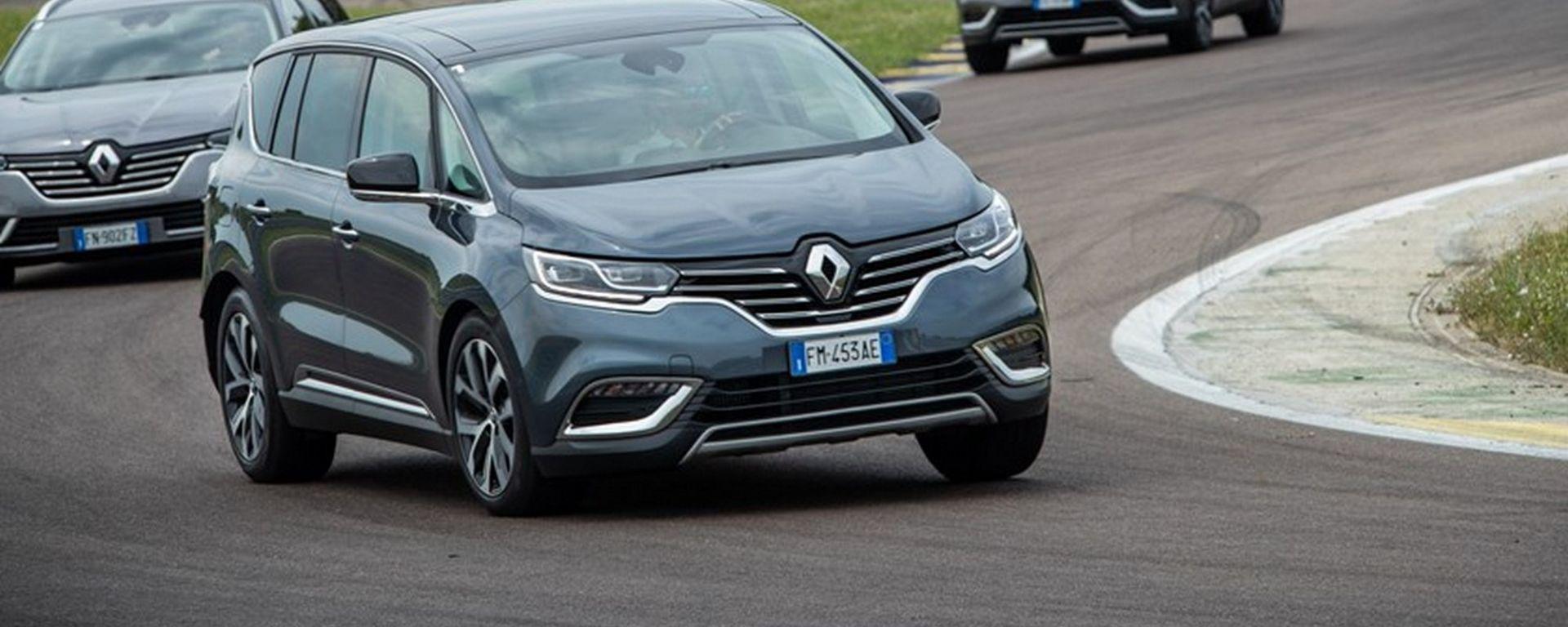 Renault Scénic, campionessa di assistenti di guida