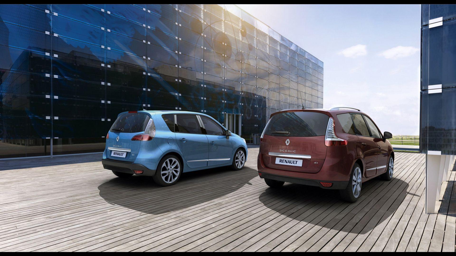 Immagine 8: Renault Scénic e Scenic X-Mod 2012