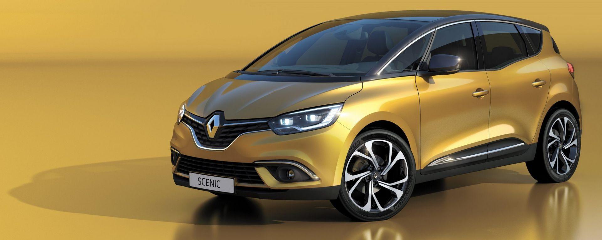 Renault Scénic: prezzi, allestimenti e dotazioni in dettaglio